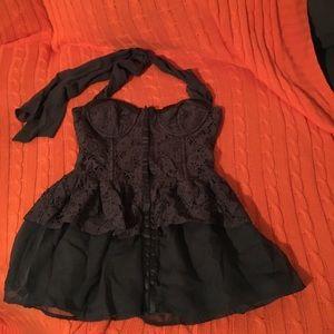 Gorgeous halter corset!